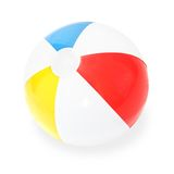 Beach Ball. Isolated on white Royalty Free Stock Photo
