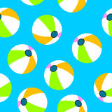 Beach ball background Stock Images