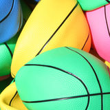 Beach ball backgrounds Royalty Free Stock Images