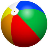 Beach Ball. 3d vector drawing Stock Photography
