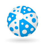 Beach ball di vettore Illustrazione di Stock