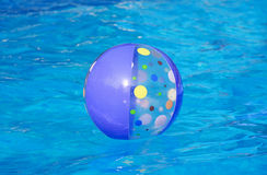 Beach Ball Floating Stock Photos