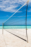 Beach ball net Stock Photos