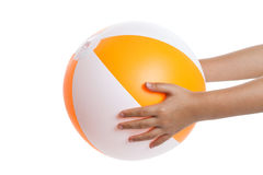 Beach Ball royalty free stock photos