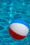 Beach ball in Pool Stock Image