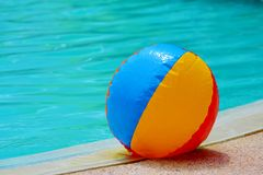 Beach-ball Poolside Royalty Free Stock Images