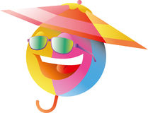Smiley Face Umbrella Clip Art Stock Images - Image: 4463354