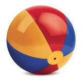 Beach ball. Vector illustration Stock Photo