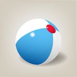 Beach ball. Vector illustration Royalty Free Stock Photography