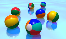 Beach balls Royalty Free Stock Image