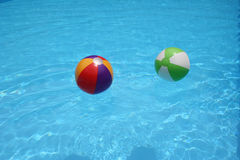 Beach balls royalty free stock photo