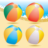 Beach balls Stock Photos