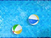 Beach balls Stock Photo
