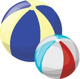 Beach Balls Stock Image