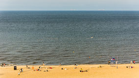Beach and the Baltic Sea Royalty Free Stock Images