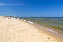 Beach at the Baltic Sea Royalty Free Stock Photo