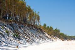 Beach, Baltic Sea, Poland Stock Photos