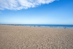 Beach of Baltic Sea, Poland Royalty Free Stock Image