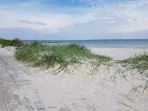 Heiligenhafen Germany Beach Baltic see Royalty Free Stock Photography