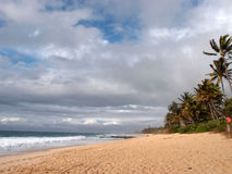 Beach at the Banzai Pipeline Stock Photos