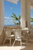Beach bar. St-Petersburg, sun, sea, bar, mojito Royalty Free Stock Photography