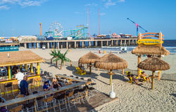 Beach Bar Atlantic City Royalty Free Stock Photography
