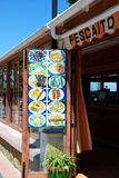 Beach bar, Benalmadena. Royalty Free Stock Images
