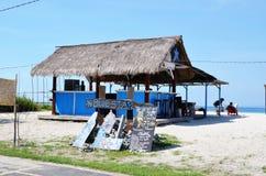 Beach bar Blue Star Royalty Free Stock Photography