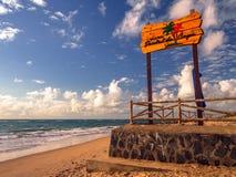 Beach bar Stock Photography