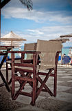 Beach bar chair Stock Photography