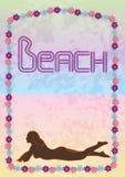 Beach bar glamour 1 royalty free stock photos