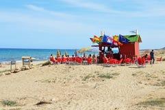 Beach Bar Royalty Free Stock Photo