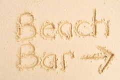 Beach Bar Stock Images