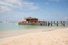 Beach Bar on Pier Stock Photography