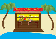 Beach Bar Stock Image