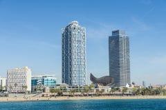 Beach at Barcelona. Spain Stock Photography