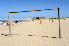 The beach of Barra de Valizas in Uruguay Stock Photo