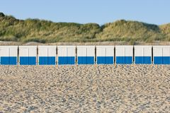 Beach barracks Royalty Free Stock Image