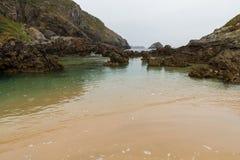Beach Barro Asturias Spain Royalty Free Stock Photography