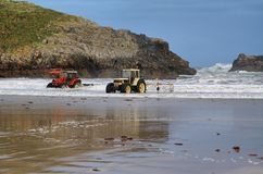 Beach of Barro near Llanes village Stock Photo