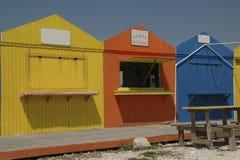 Beach Bars. On Grand Bahama Island in the Bahamas Royalty Free Stock Photos