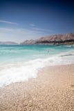 Beach at Baska Royalty Free Stock Photography
