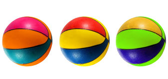 Beach basketball ball Stock Photo