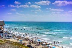 Beach, Bat Yam coast, Israel Stock Photography