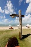 Beach bath Stock Images