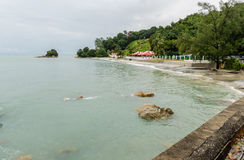 Beach of Batu Ferringhi – Penang, Malaysia Stock Photo