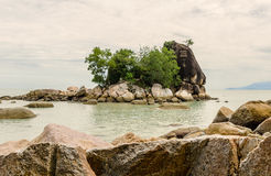 Beach of Batu Ferringhi – Penang, Malaysia Stock Photography