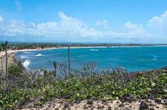 Beach and Bay Near Cueva Del Indio Royalty Free Stock Photo