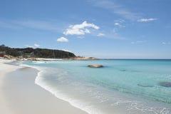 Beach at Bay of Fires Tasmania coast Royalty Free Stock Photography