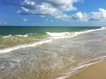 Beach. A beautiful day at the beach Royalty Free Stock Photography